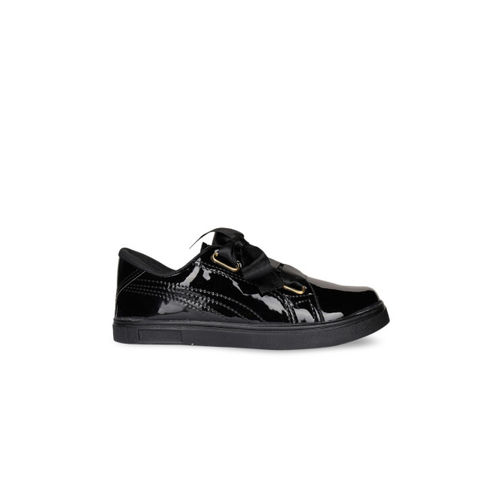 Shoetopia Women Black Sneakers