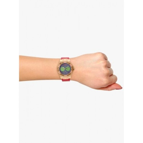 Guess Limelight W0775l4 Pink/Blue Analog Watch