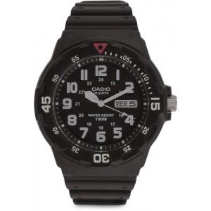 Casio MRW-200H-1BVDF (A595) Enticer Black Dial Analog Watch