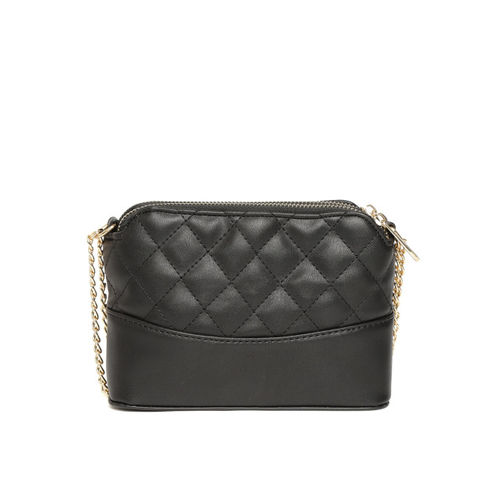 DressBerry Black Quilted Sling Bag