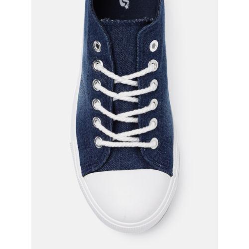 Roadster Women Navy Blue Sneakers