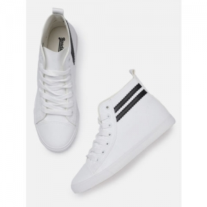 141f0a805 Buy Kook N Keech Women Off-White Perforated Sneakers online ...