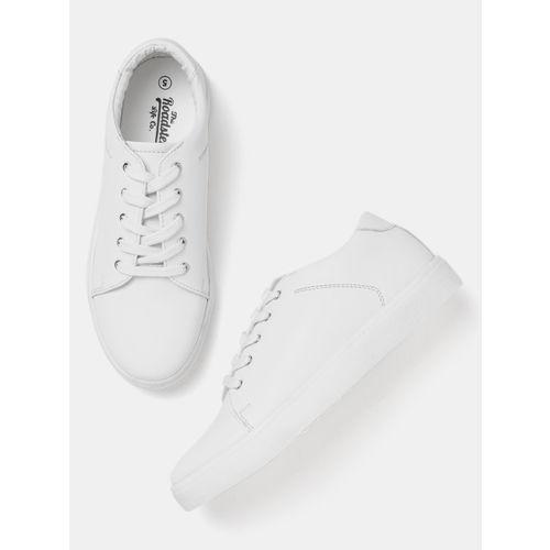 Roadster Women White Sneakers
