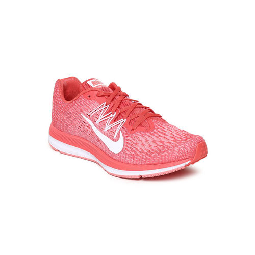 8d1651a1 Buy Nike Women Peach-Coloured ZOOM WINFLO 5 Running Shoes online ...