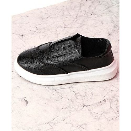 KIDLINGSS Stylish Slip-On Casual Shoes - Black