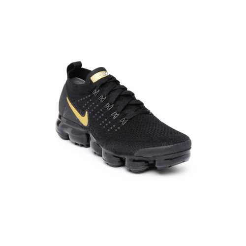 the latest a5bfd 39c38 Buy Nike Women Black Air VaporMax Flyknit 2 Running Shoes ...