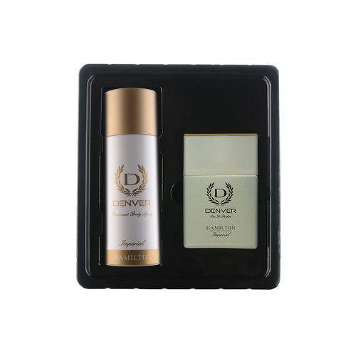Denver Imperial Men Eua De Parfum & Deodorant Body Spray Gift Pack
