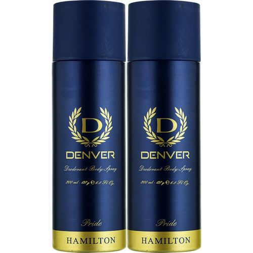 Denver Pride Combo Deodorant Spray - For Men(400 ml, Pack of 2)