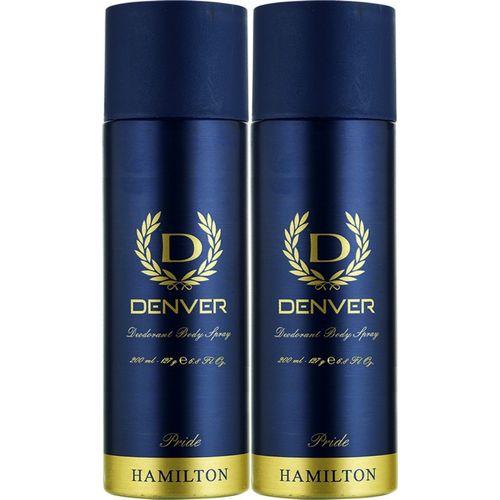 Denver Pride Combo Deodorant Spray - For Men(400 ml, Pack of 2)
