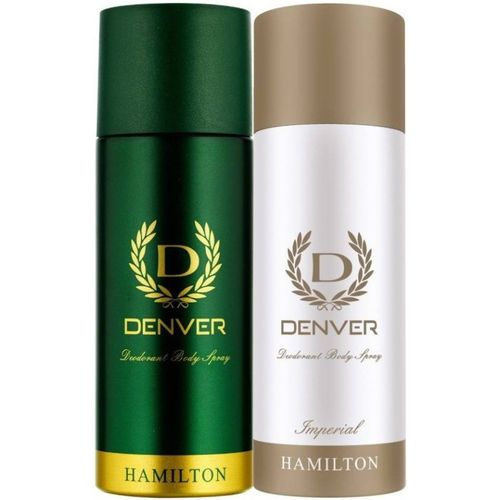Denver 1 HAMILTON AND 1 IMPERIAL DEO Body Spray - For Men & Women(330 ml, Pack of 2)