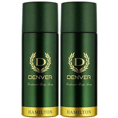 Denver Hamilton Deo Combo Deodorant Spray - For Men(330 ml, Pack of 2)