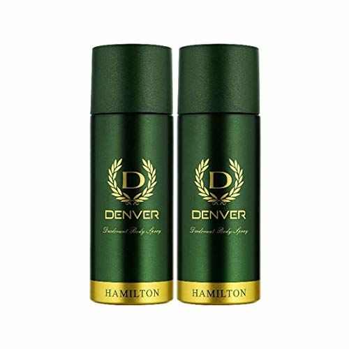 DENVER, GATSBY Denver Hamilton Deo Combo 165 ml (Pack of 2)