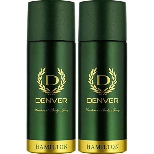 Denver Hamilton Deo Combo 165 ml (Pack of 2)