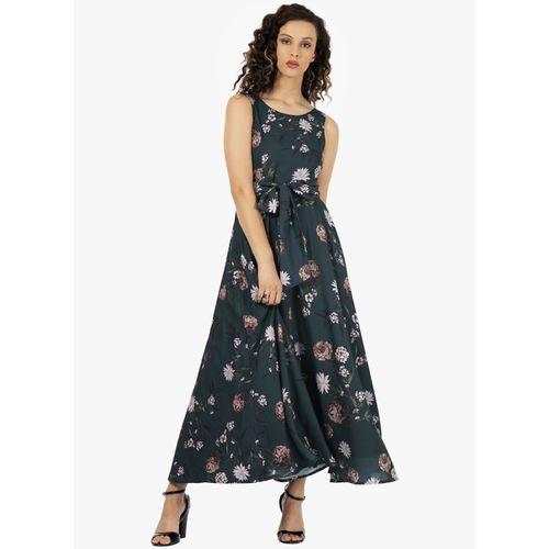 FabAlley Women Maxi Green Dress