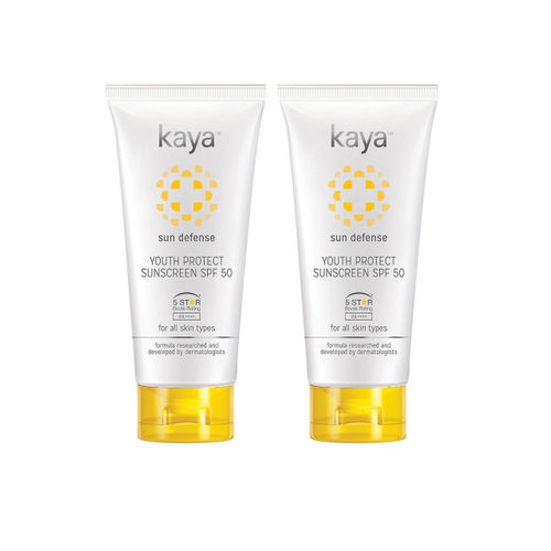 Kaya Skin Clinic Set Of 2 Youth Protect Sunscreen SPF 50 50 ml