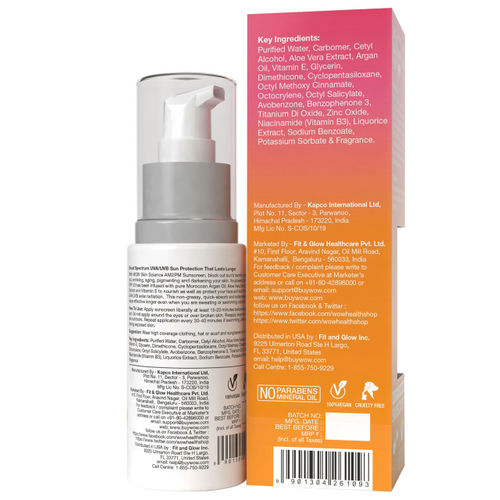 Pack of 2 WOW Skin Science AM2PM Sunscreen Lotion - 100 mL