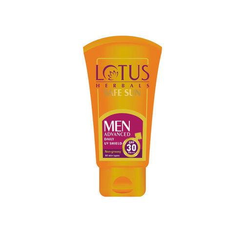 Lotus Herbals Men Safe Sun Advanced Daily UV Shield SPF-30