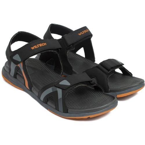Asian Men Black Sports Sandals