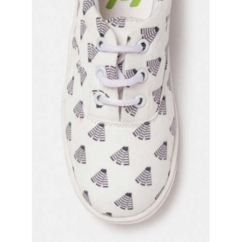 Yk Printed Lace-up Casual shoes For Boys