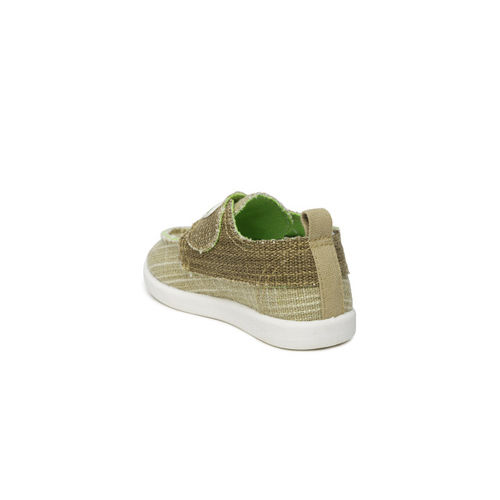 YK Kids Brown Casual Shoes