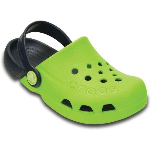 Crocs Green Sling Back Clogs