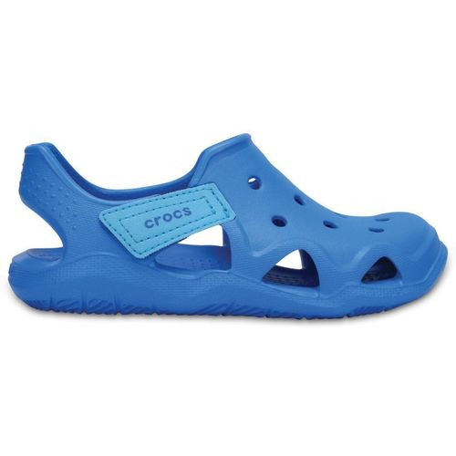 Crocs Blue Round Toe Boys Slip-On Casual Clogs