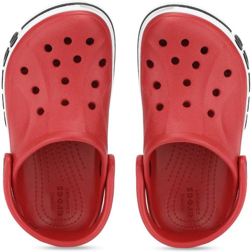 Crocs Boys Slip-on Clogs(Red)