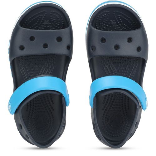 Crocs Blue Croslite Velcro Clogs