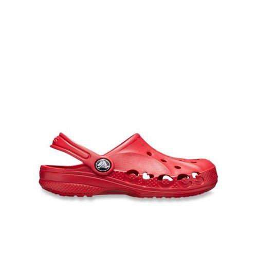 crocs Unisex Baya Kids Clogs Red