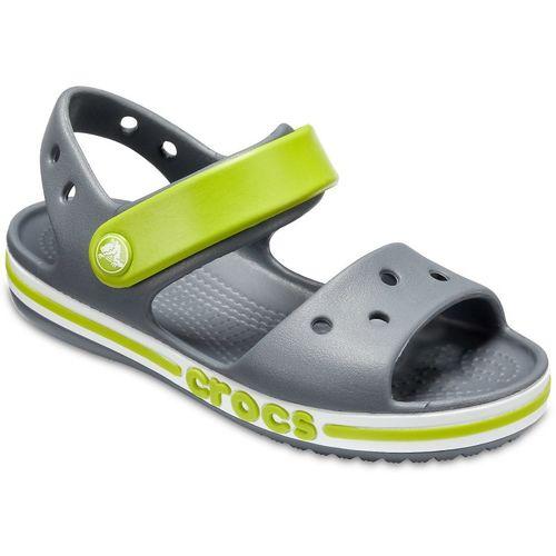 Crocs Boys Velcro Sports Sandals(Grey)