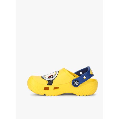 crocs Unisex Kid's FunLab Minions Clogs