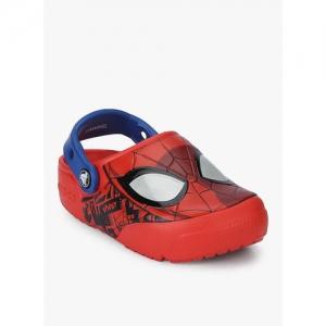 Crocs Fl Spiderman Red Clogs