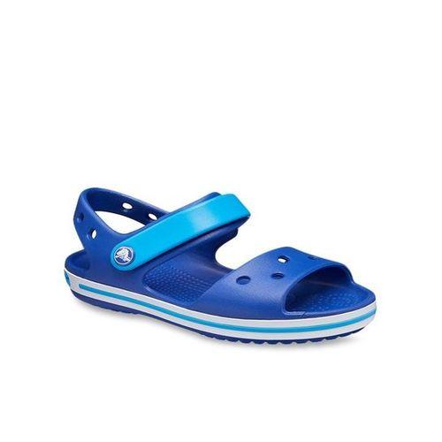 Crocs Kids Crocband Cerulean Blue Ankle Strap Sandals