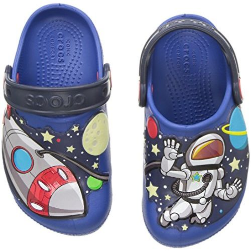crocs Unisex's FL SpaceExp Lights CLG K Clogs