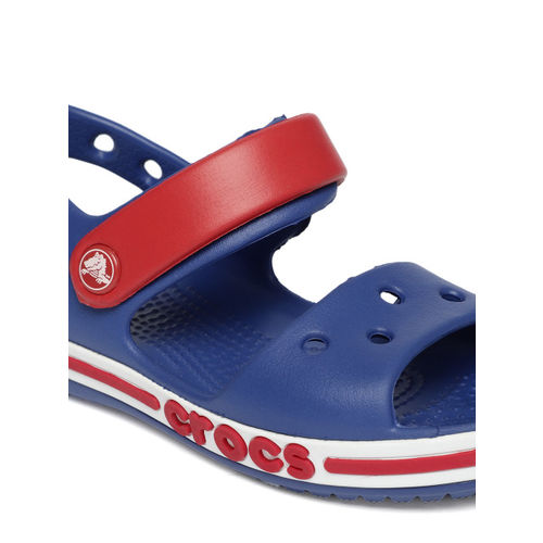 Crocs Blue Synthetic Clogs