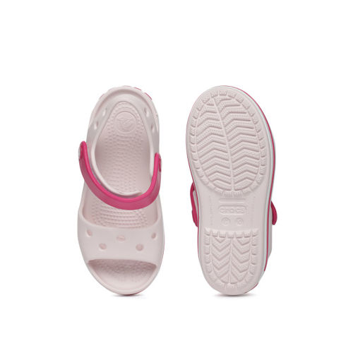 Crocs Pink Synthetic Clogs