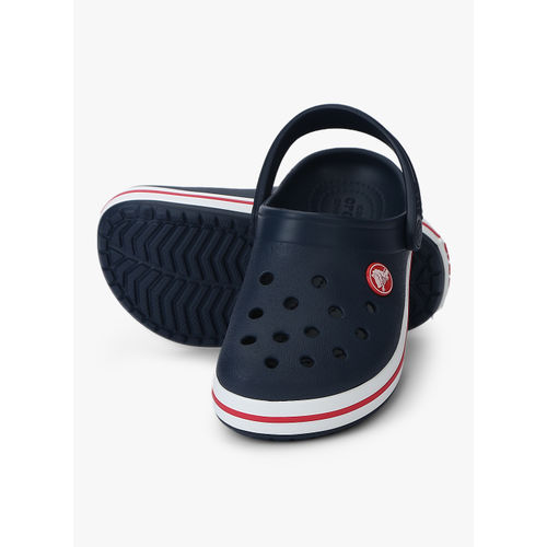 Crocs Crocband Navy Blue Clogs Sandals