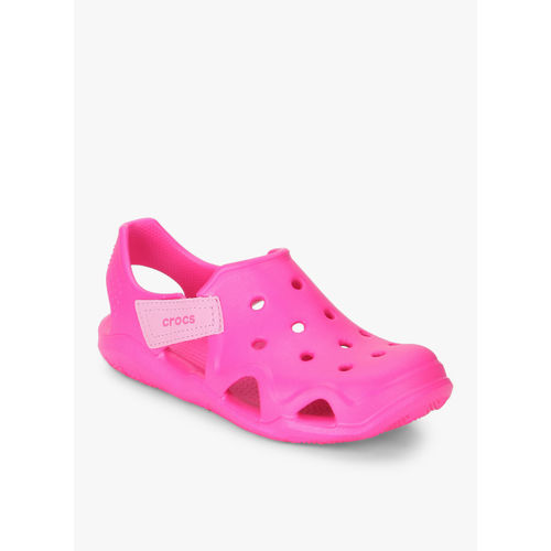 Crocs Swiftwater Wave Pink Sandals