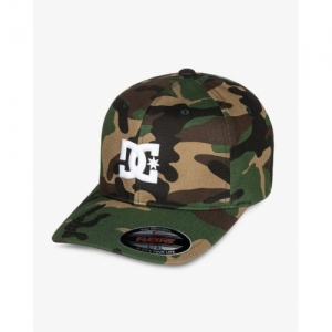 173936db047 DC Shoes Camouflage Print Baseball Cap