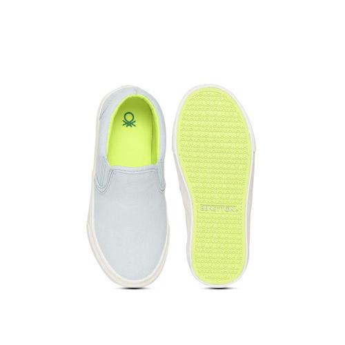 United Colors of Benetton Kids Blue Slip-Ons