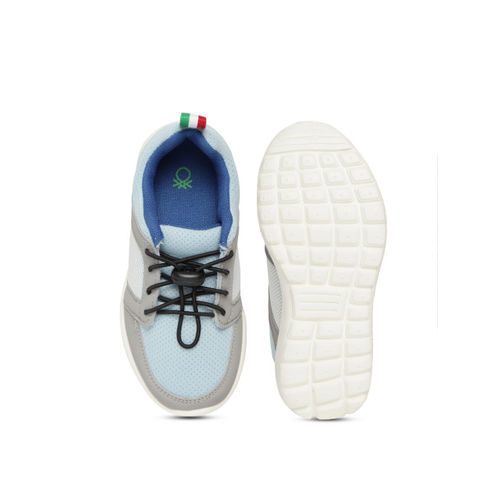 United Colors of Benetton Kids Blue & Grey Sneakers