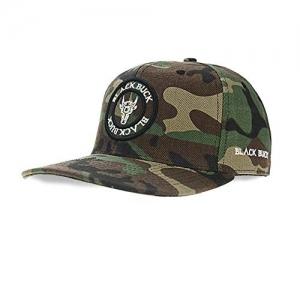 BlackBuck Green Cotton Hip Hop Cap