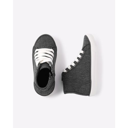 United Colors of Benetton Charcoal Sneakers