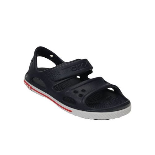 Crocs Kids Crocband II PS Navy & White Floater Sandals