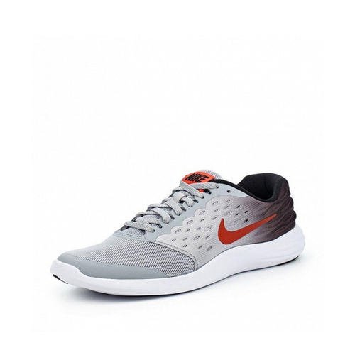 Nike Kids Lunarstelos White Lace Up Shoes