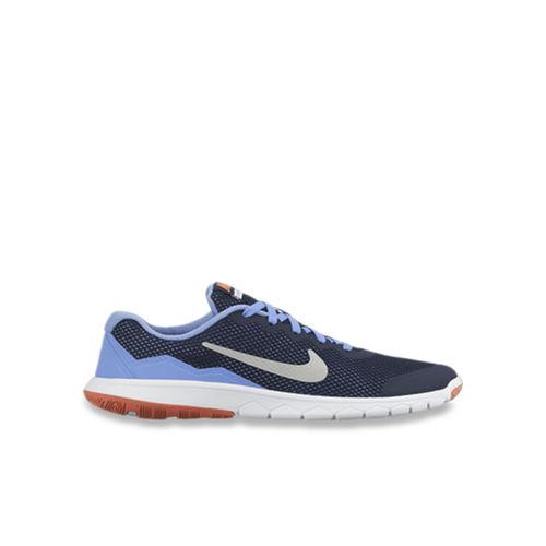 Nike Kids Flex Experience 4 Navy Running Shoes