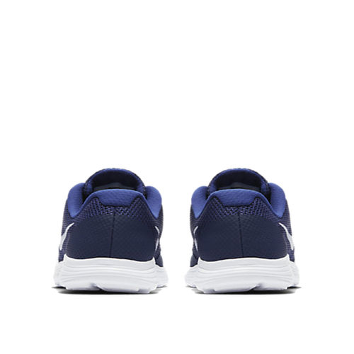 Nike Kids Revolution 3 Blue Lace Up Shoes