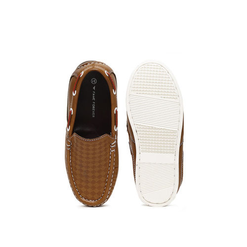 Fame Forever by Lifestyle Boys Brown Boat Shoes