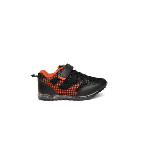 Fame Forever by Lifestyle Boys Black Sneakers