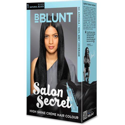 BBlunt Salon Secret High Shine Hair Color(Black)